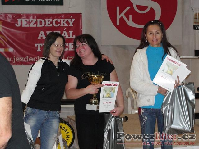 Ženy - Poláková (2), Leiblová (1), Zodererová (3)
