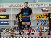 Zoltán Kanat, CZE, 255kg